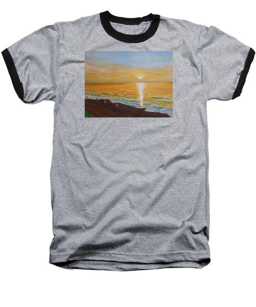 The Golden Ocean Baseball T-Shirt