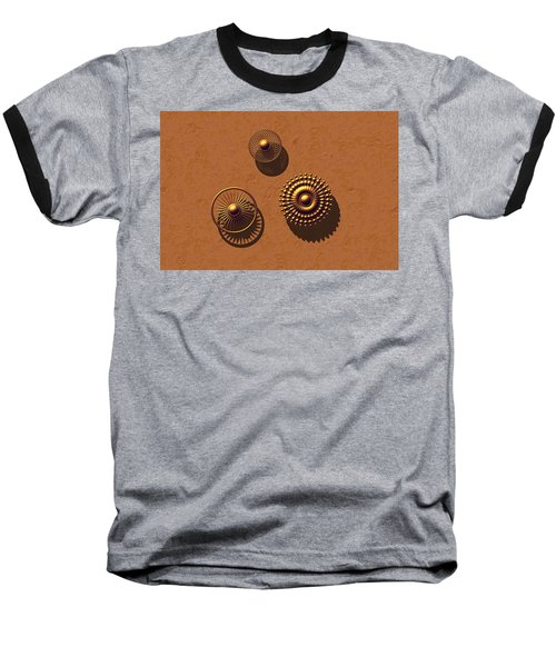 The Golden Ones Baseball T-Shirt by Lyle Hatch