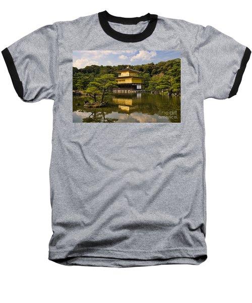 The Golden Pagoda In Kyoto Japan Baseball T-Shirt