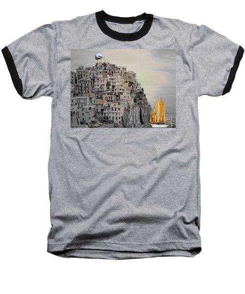 The Golden Sails Baseball T-Shirt