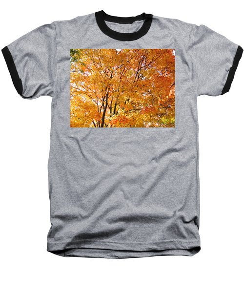 Baseball T-Shirt featuring the photograph The Golden Takeover by Robert Knight
