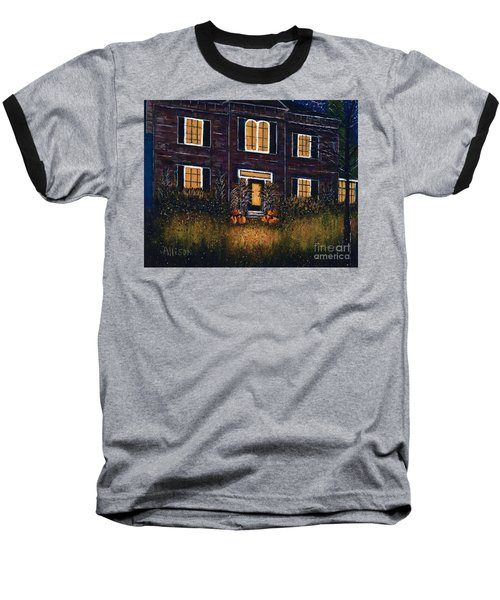 The Good Witch Grey House Baseball T-Shirt