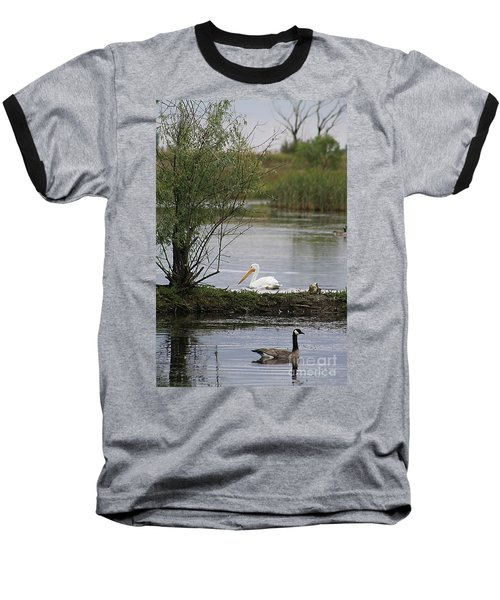 The Goose And The Pelican Baseball T-Shirt