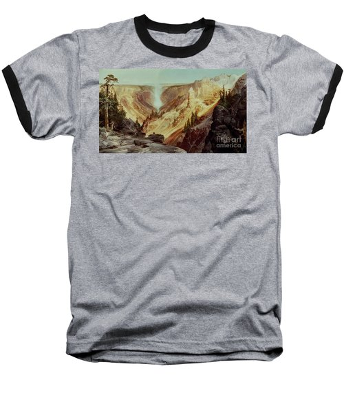 The Grand Canyon Of The Yellowstone Baseball T-Shirt