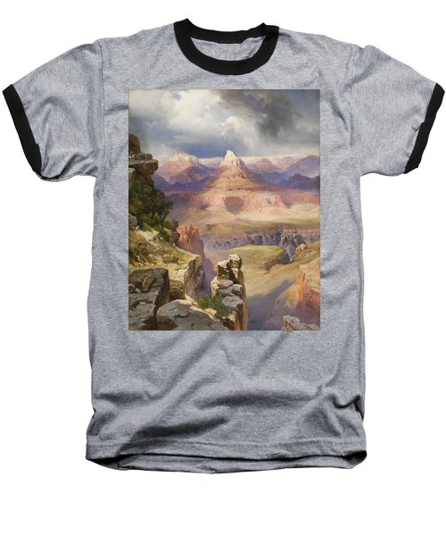 The Grand Canyon Baseball T-Shirt by Thomas Moran