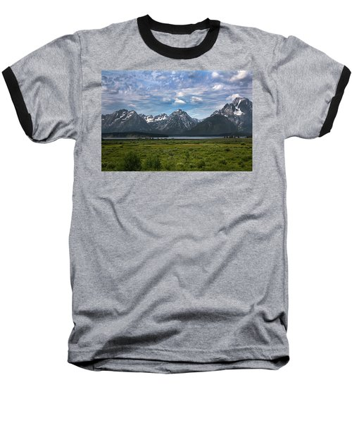 The Grand Tetons Baseball T-Shirt