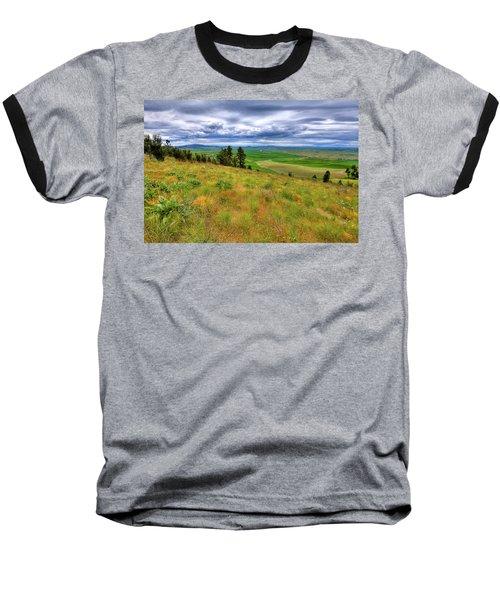 The Grasses Of Kamiak Butte Baseball T-Shirt