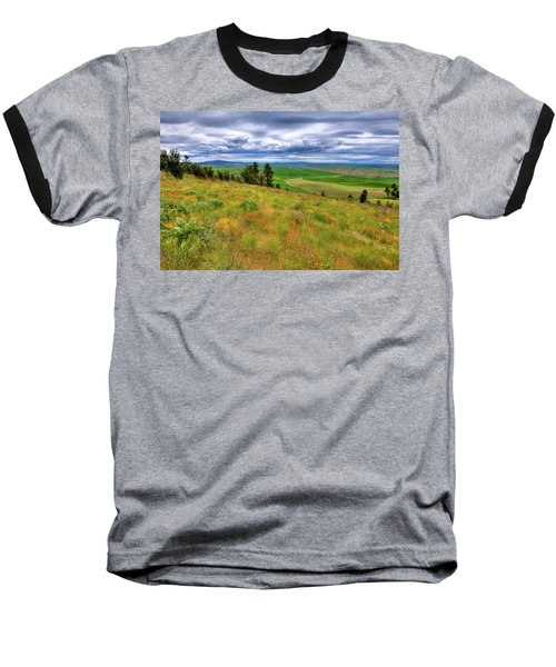 The Grasses Of Kamiak Butte Baseball T-Shirt
