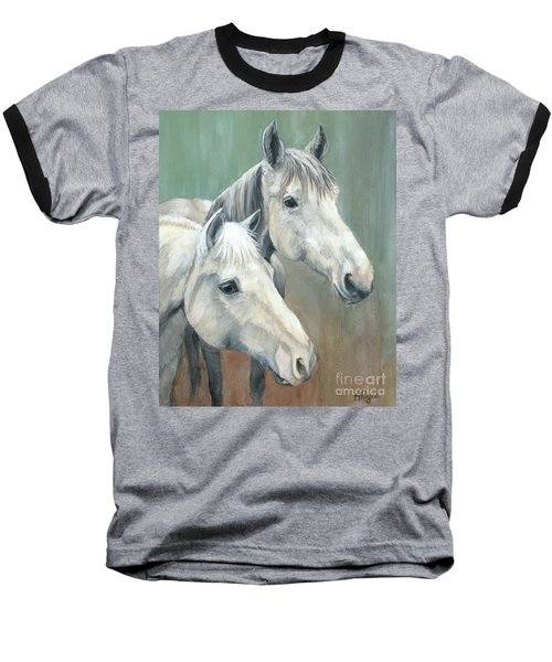 The Grays - Horses Baseball T-Shirt