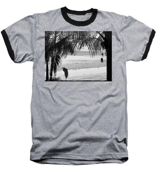 Watching The Tide Baseball T-Shirt