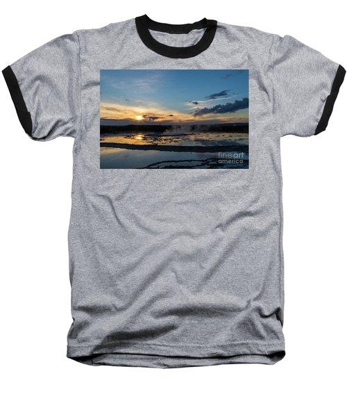 The Great Fountain Geyser Baseball T-Shirt
