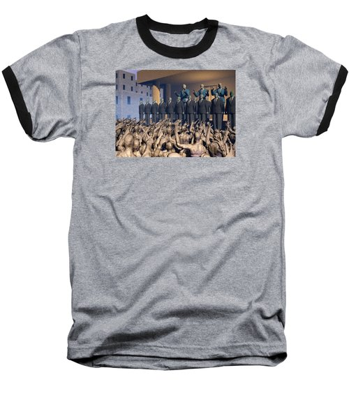 The Great Mud Revolt Baseball T-Shirt