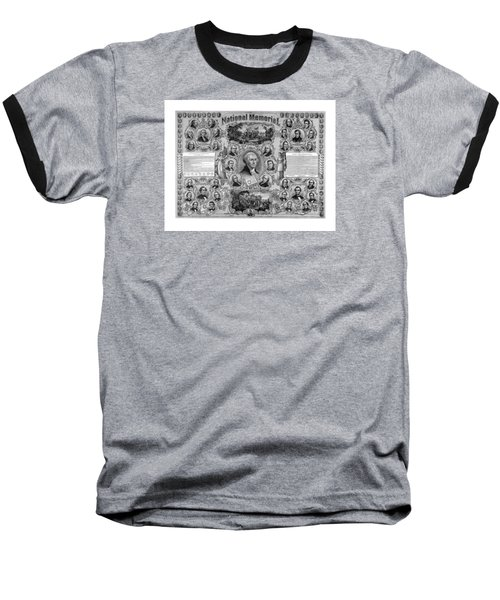 The Great National Memorial Baseball T-Shirt