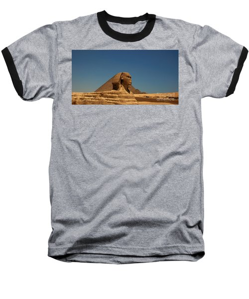 The Great Sphinx Of Giza 2 Baseball T-Shirt