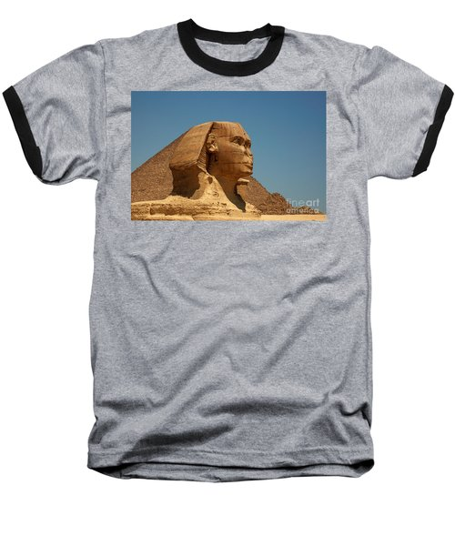 The Great Sphinx Of Giza Baseball T-Shirt