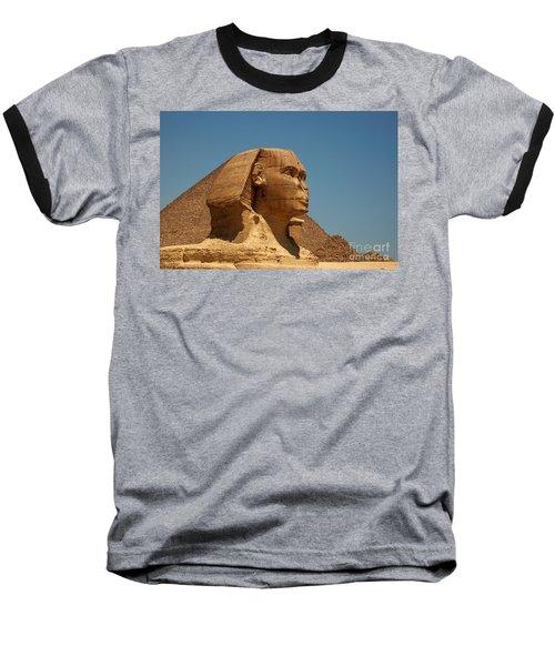 The Great Sphinx Of Giza Baseball T-Shirt by Joe  Ng