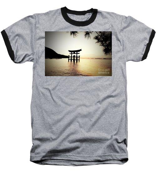 The Great Torii  Baseball T-Shirt