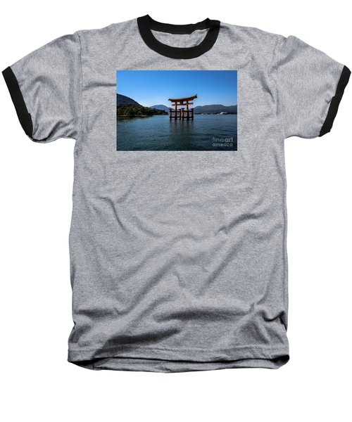 Baseball T-Shirt featuring the photograph The Great Torii by Pravine Chester