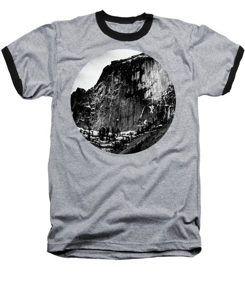 The Great Wall, Black And White Baseball T-Shirt