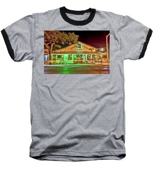 The Greeen Parrot Baseball T-Shirt