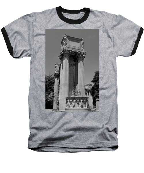 The Greek Architecture Baseball T-Shirt