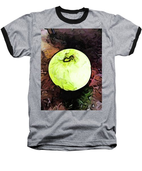 The Green Apple In The Bright Light Baseball T-Shirt