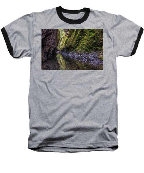 Baseball T-Shirt featuring the photograph The Green Canyon Of Oregon by Pierre Leclerc Photography