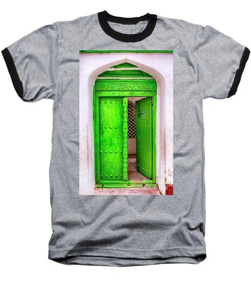 The Green Door Baseball T-Shirt