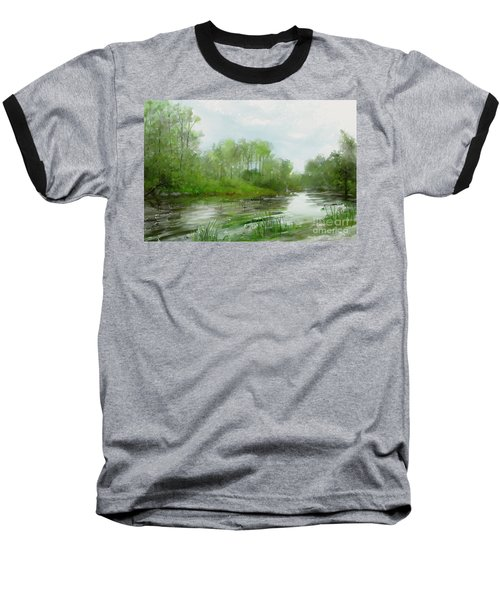 The Green Magic Of Ordinary Days Baseball T-Shirt