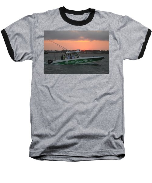 The Greene Turtle Power Boat Baseball T-Shirt