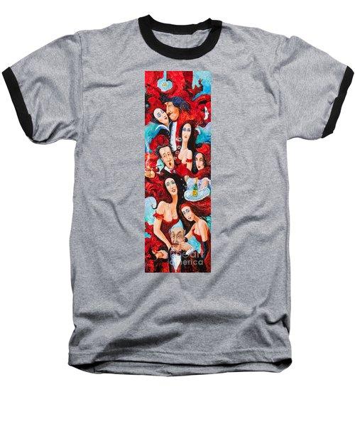 The Groom Baseball T-Shirt by Igor Postash