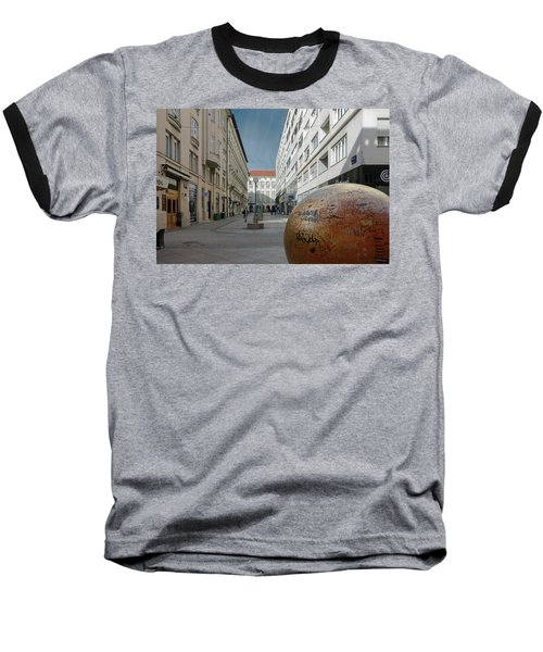 The Grounded Sun Zagreb Baseball T-Shirt