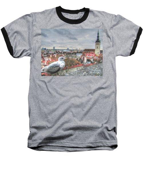 The Guard Of Tallinn Baseball T-Shirt by Yury Bashkin