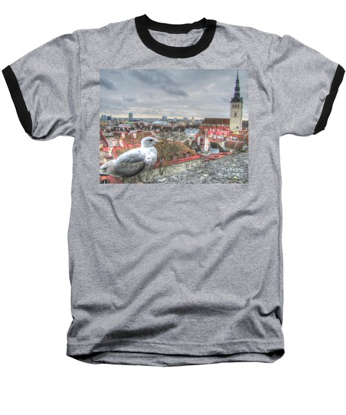 The Guard Of Tallinn Baseball T-Shirt