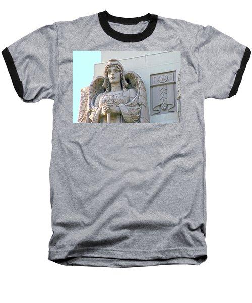 The Guardian Angel On Watch Baseball T-Shirt