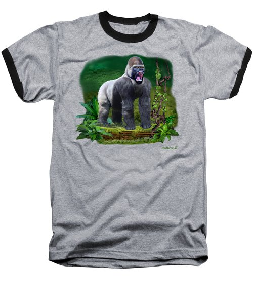 The Guardian Of The Rain Forest Baseball T-Shirt by Glenn Holbrook