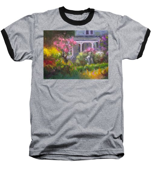 The Guardian - Plein Air Lilac Garden Baseball T-Shirt
