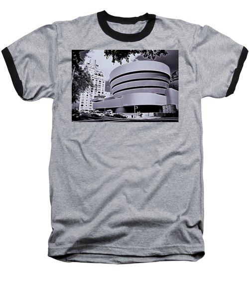 The Guggenheim Black And White Baseball T-Shirt