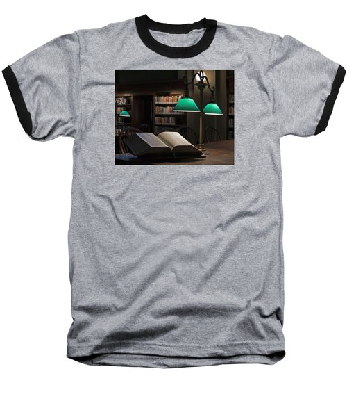 Baseball T-Shirt featuring the photograph The Guiding Light by Stephen Flint
