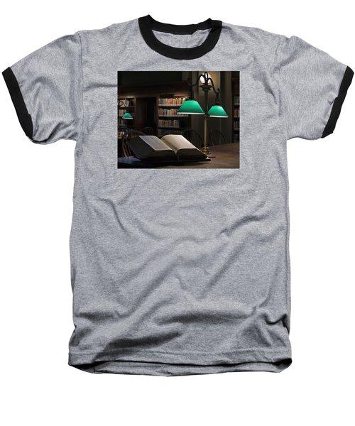 The Guiding Light Baseball T-Shirt by Stephen Flint