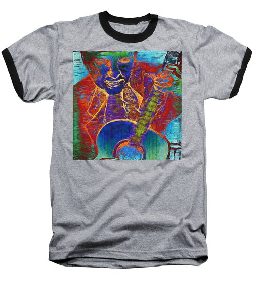 The Guitar Man - Two Baseball T-Shirt