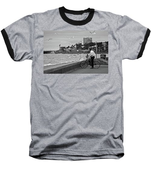 The Gull Man Baseball T-Shirt