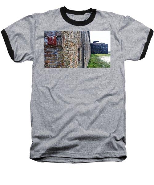 The Guns Of Ft. Pickens Baseball T-Shirt