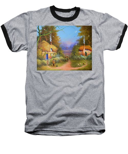 The Hamlet Of Gnarl Mid Summers Eve Baseball T-Shirt