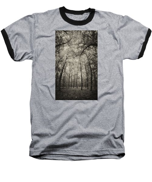 The Hands Of Nature Baseball T-Shirt by Stavros Argyropoulos