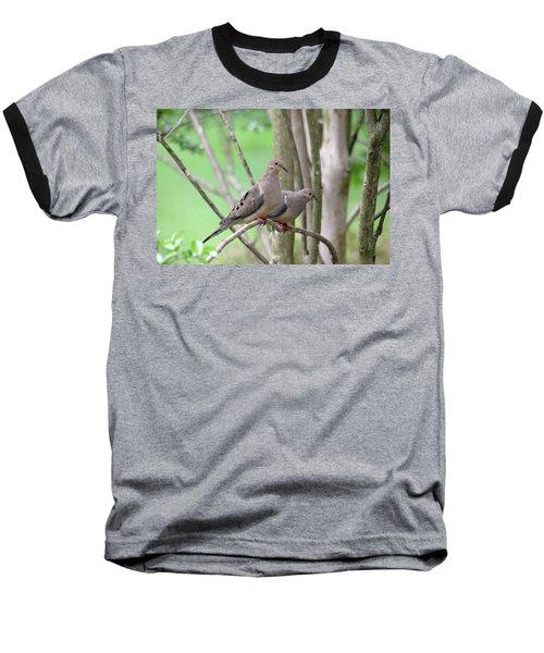 The Happy Couple Baseball T-Shirt by Trina Ansel