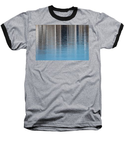 Baseball T-Shirt featuring the photograph The Harbor Reflects by Karol Livote