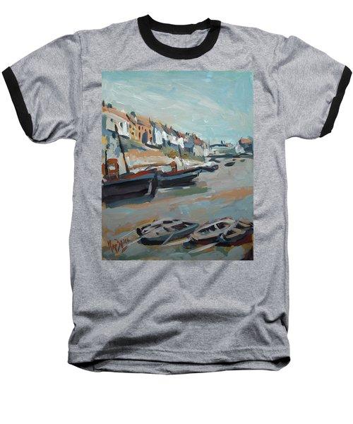 The Harbour Of Mevagissey Baseball T-Shirt