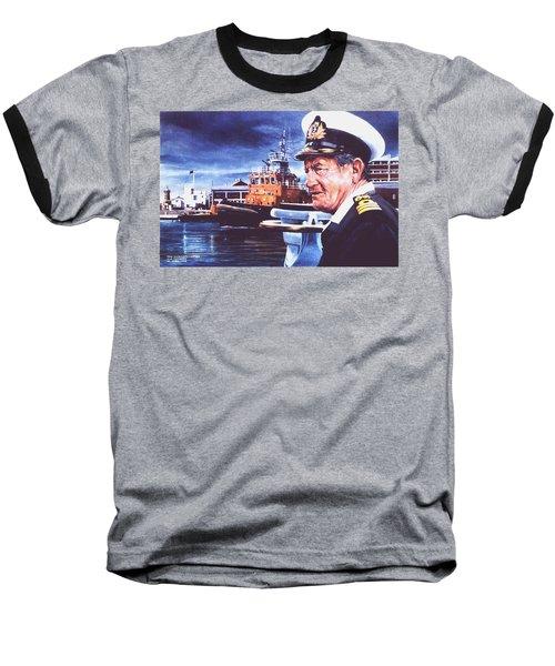 The Harbourmaster Baseball T-Shirt by Tim Johnson