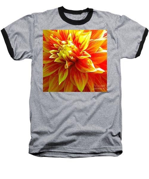The Heart Of A Dahlia #2 Baseball T-Shirt